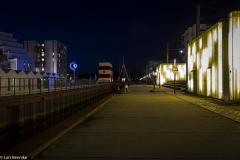 Foto: Lars Bennike | Odense havn by night