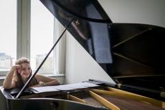 Foto: Steffen Jensen | Den unge operasanger Marie Dreisig som er en af de sangere jeg lige nu fotograferer.
