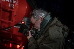 Foto: Steffen Jensen | Ude med mit gamle Hasselblad med et digitalt bagstykke som Phase One havde lavet til mig.