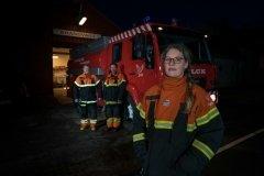 Foto: Steffen Jensen   Hanne Hamann deltidsbrandmand og meget andet.