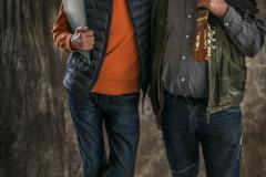 Foto: Steffen Jensen | Instruktør Nils Worsaae og kapelmester Bjarne Rasmussen.