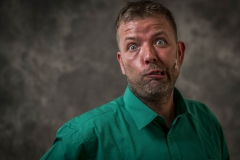 Foto: Steffen Jensen | Kenny Navne en af de sjoveste skuespillere i Langelandsrevyen.