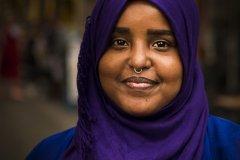 Foto: Steffen Jensen | Yasmin Ali fra Somalia var en af de flygtninge som jeg har fotograferet en del.